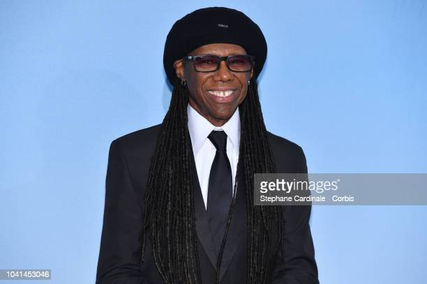 Nile Rodgers attends the MonteCarlo Gala for the Global Ocean 2018 on September 26 2018 in MonteCarlo Monaco