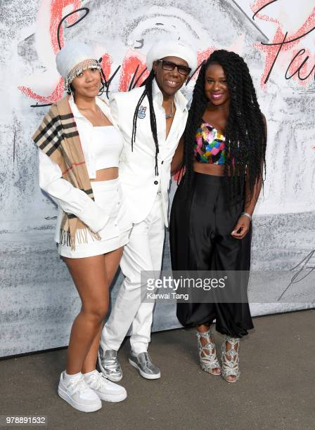 Nile Rodgers attends the Serpentine Gallery Summer Party at The Serpentine Gallery on June 19 2018 in London England