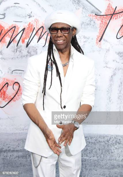Nile Rodgers attends The Serpentine Summer Party at The Serpentine Gallery on June 19 2018 in London England