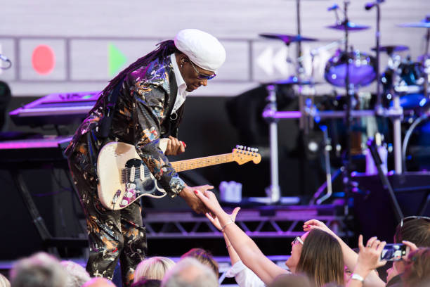 GBR: Nile Rodgers & CHIC Perform At Hampton Court Palace