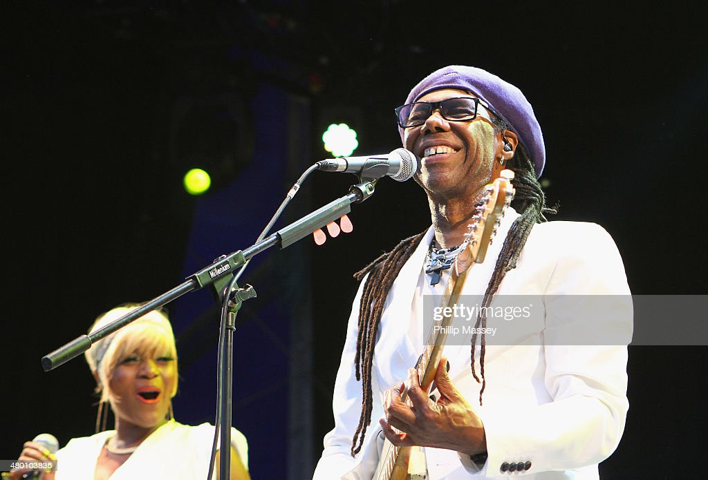 Chic Perform At The Iveagh Gardens : News Photo