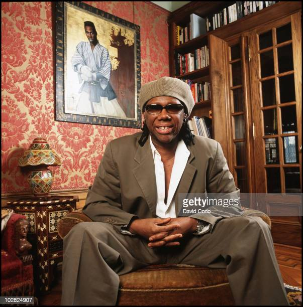 Nile Rodgers of Chic poses for a portrait at his home on 4th June 2003 in New York