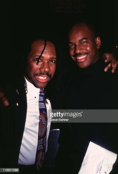 Nile Rodgers Ray Jones during Nile Rogers Ray Jones at Club USA 1993 at Club USA in New York City New York United States