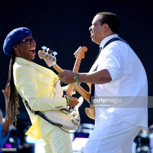 Nile Rogers of Nile Rogers CHIC performs onstage during 2018 Coachella Valley Music And Arts Festival Weekend 1 at the Empire Polo Field on April 14...