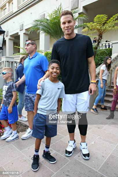 Niles Brown and Blake Griffin attend Lupus LA's MBJAM17 at The RitzCarlton Marina del Rey on September 16 2017 in Marina del Rey California