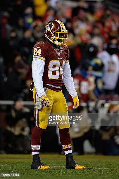 Niles Paul of the Washington Redskins in action during an NFL game against the San Francisco 49ers at FedExField on November 25 2013 in Landover...
