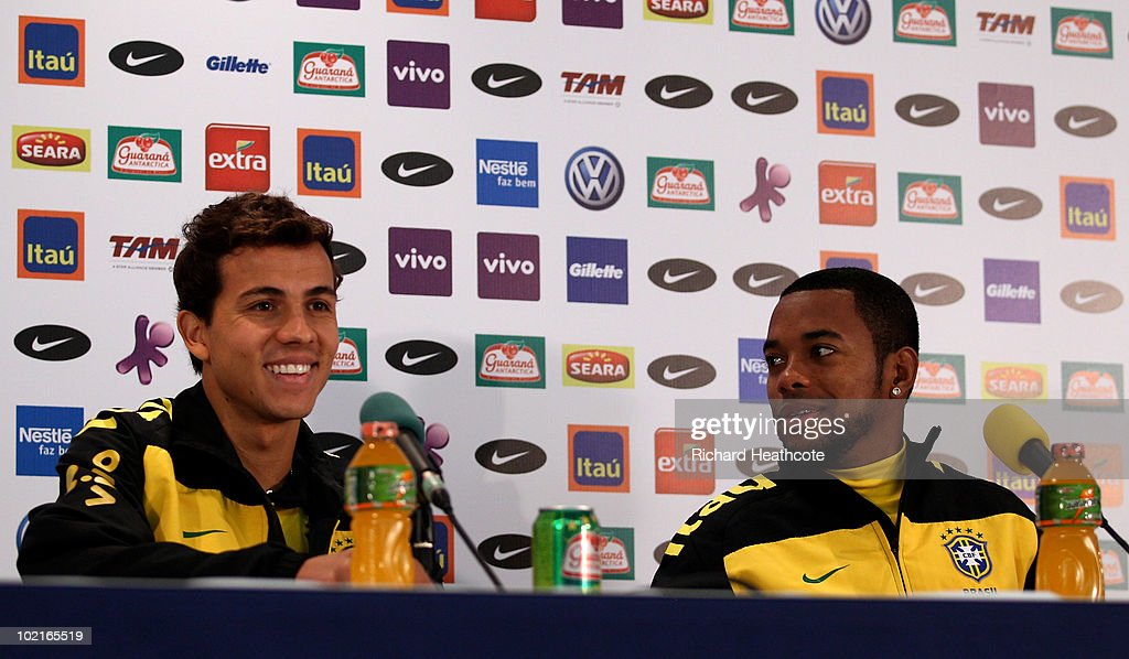 Brazil Training & Press Conference - 2010 FIFA World Cup