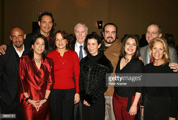 Nilo Cruz, Carol Robles-Roman, Jimmy Smits, Priscilla Lopez, Roger Berlind, Katherine Oliver, David Zayas, Vanessa Aspillaga, Jed Bernstein and Daryl...