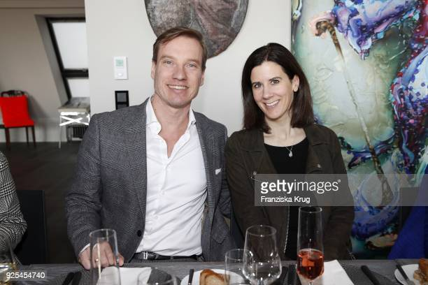 Nils Behrens and Katja Suding during the Lanserhof Ladies Lunch at Loft am Mauerpark on February 28 2018 in Berlin Germany