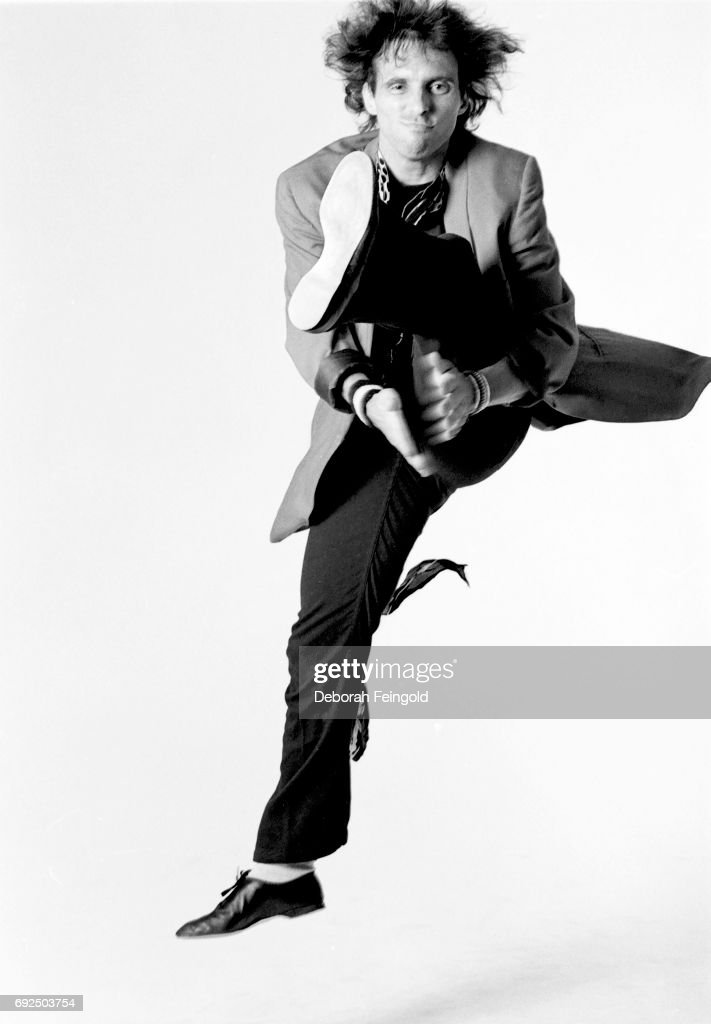 Nils Lofgren poses for a portrait in 1983 in New York City, New York.
