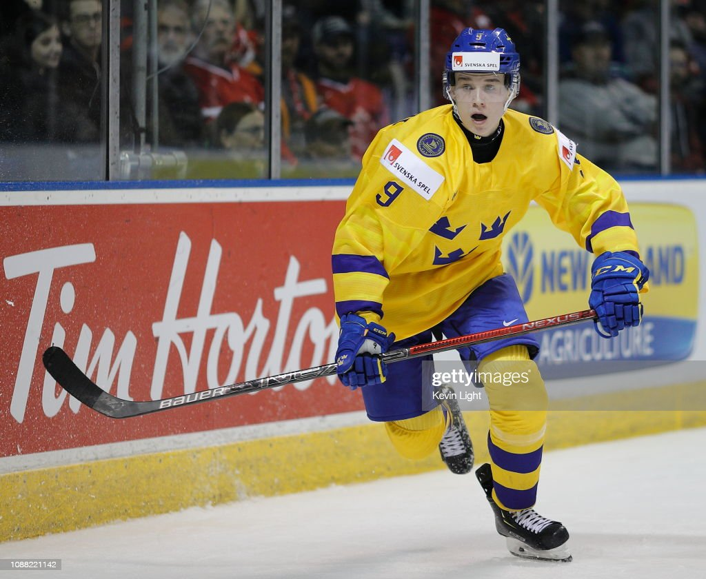 Sweden v United States - 2019 IIHF World Junior Championship : News Photo