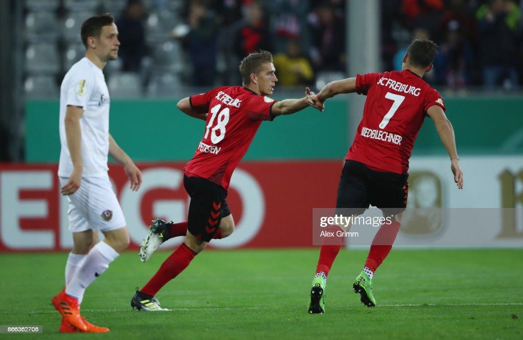 SC Freiburg v Dynamo Dresden - DFB Cup