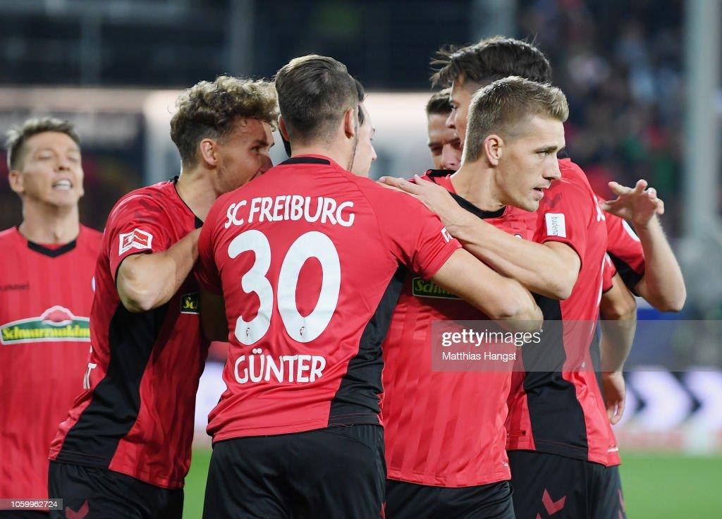 Sport-Club Freiburg v Borussia Moenchengladbach - Bundesliga : News Photo