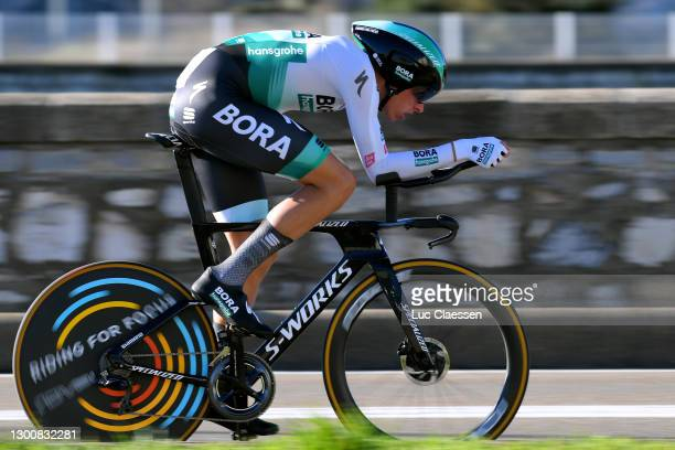 Nils Politt of Germany and Team Bora - Hansgrohe during the 51st Étoile de Bessèges - Tour du Gard 2021, Stage 5 a 10,71km Individual Time Trial from...