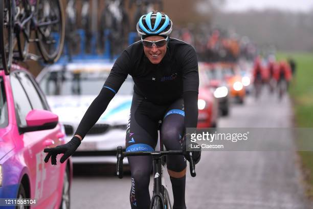 Nils Politt of Germany and Team Israel Start-Up Nation / Rain / during the 78th Paris - Nice 2020, Stage 3 a 212,5km stage from Chalette-sur-Loing to...