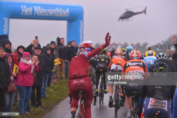 Nils Politt of Germany and Team Katusha Alpecin / during the 102nd Tour of Flanders 2018 Ronde Van Vlaanderen a 2647km race from Antwerpen to...