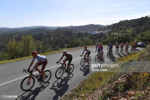 Nils Politt of Germany and Team Katusha Alpecin / Miradouro Alto da Ameixeira / Landscape / Peloton / Mountains / during the 45th Volta ao Algarve,...