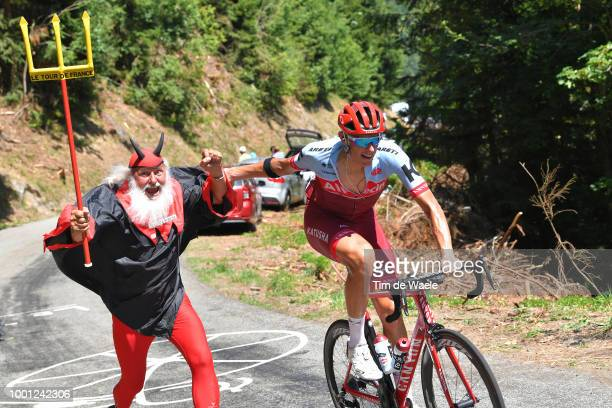 Nils Politt of Germany and Team Katusha / Didi Devil / during the 105th Tour de France 2018, Stage 11 a 108,5km stage from Albertville to La Rosiere...