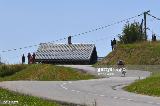 Nils Politt of Germany and Team Katusha / Landscape / Silhouet / during the 105th Tour de France 2018 Stage 11 a 1085km stage from Albertville to La...