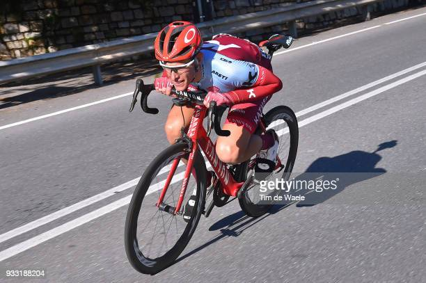 Nils Politt of Germany and Team KatushaAlpecin / during the 109th MilanSanremo 2018 a 291km race from Milan to Sanremo on March 17 2018 in Sanremo...