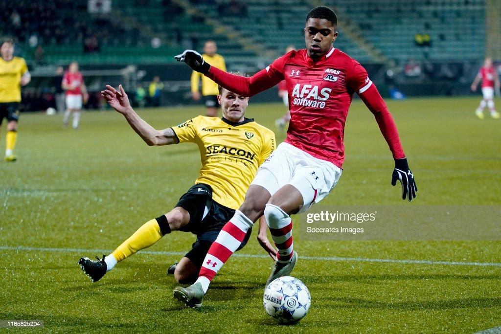 AZ Alkmaar v VVV-Venlo - Dutch Eredivisie : News Photo