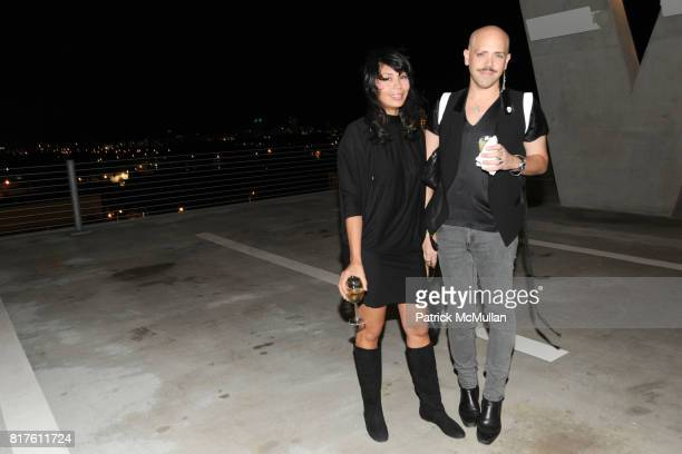 Nilsa Rivera and attend Alchemist Art Ruby present Art Basel Garage Party at 1111 Lincoln Rd on December 1 2010 in Miami Florida