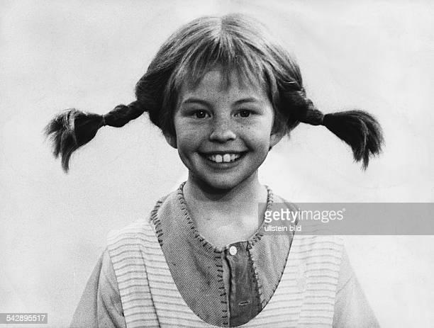 Nilsson Inger *Schauspielerin S'Pippi Langstrumpf' in ihrer Rolle als 'Pippi Langstrumpf' undatiert