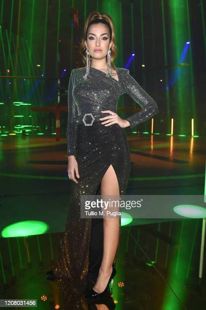 Nilufar Addati attends the Philipp Plein fashion show on February 22 2020 in Milan Italy