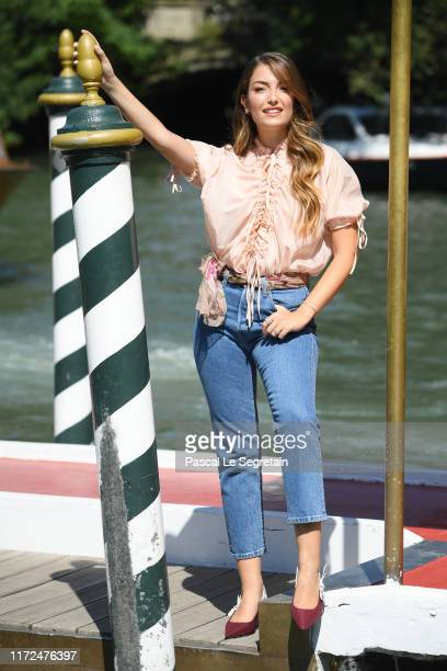 Nilufar Addati is seen arriving at the 76th Venice Film Festival on September 05 2019 in Venice Italy