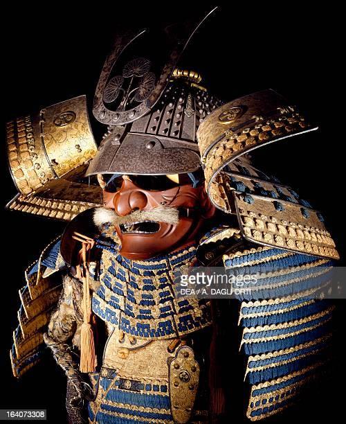 Nimai Do Gusoku Honda family samurai armour Edo period Japan end of 18th century Detail Florence Museo Stibbert