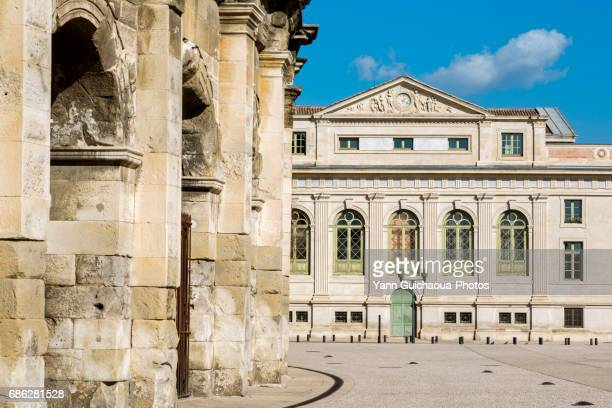 nimes, gard, france - nimes stock pictures, royalty-free photos & images