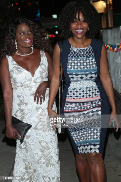 Nimi Adokiye and Cassy Raphael are seen on March 5 2019 in Los Angeles