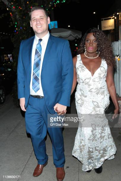 Nimi Adokiye and Danny Eley are seen on March 5 2019 in Los Angeles