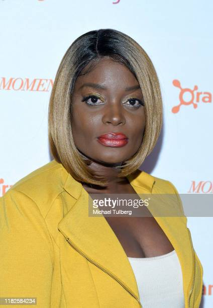 Nimi Adokiye attends a screening of the film Momentum Shift at DGA Theater on October 21 2019 in Los Angeles California