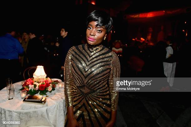 Nimi Adokiye attends The Alienist LA Premiere Event at Paramount Studios on January 11 2018 in Hollywood California 26144_017