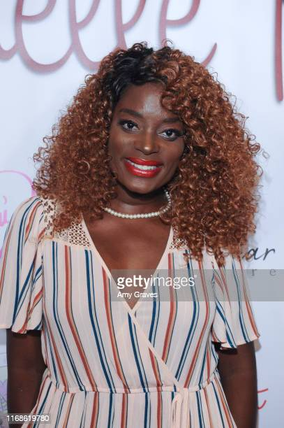 Nimi Adokiye attends the Celebrate By Karen Michelle event at Luxe Sunset Boulevard Hotel on September 15 2019 in Beverly Hills California