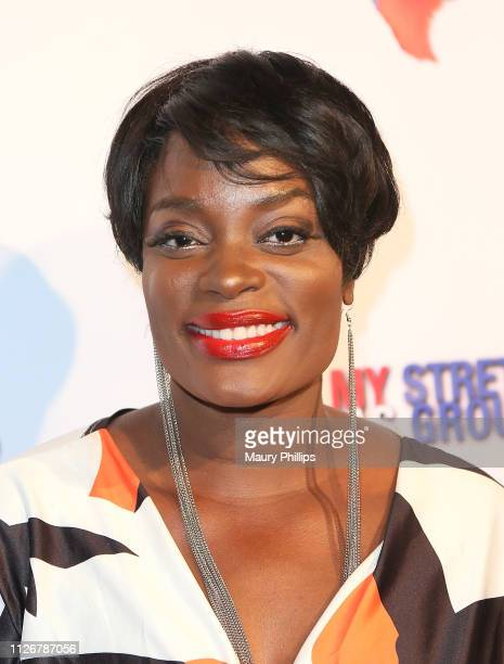 Nimi Adokiye attends the Los Angeles Premiere of My Stretch of Texas Ground at Laemmle Music Hall on February 22 2019 in Beverly Hills California