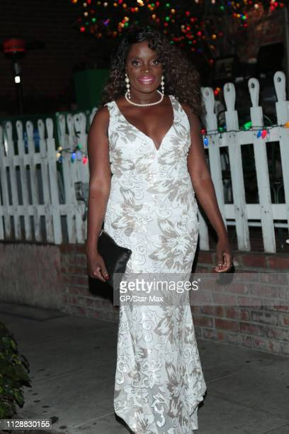 Nimi Adokiye is seen on March 5 2019 in Los Angeles