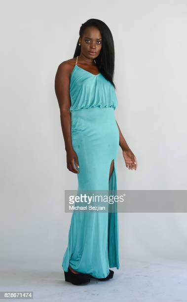 Nimi Adokiye poses for portrait at The Artists Project on August 9 2017 in Los Angeles California