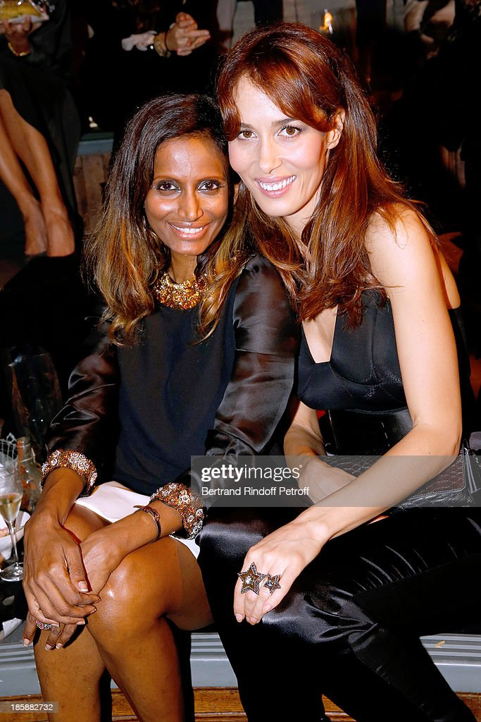 Nimi Ponnudurai and Dolores Chaplin - Designer Alber Elbaz pays tribute to Cesar Baldaccini by an Evening Pic-Nic at the Ecole Nationale Superieure des Beaux Arts de Paris on October 25, 2013 in Paris, France.