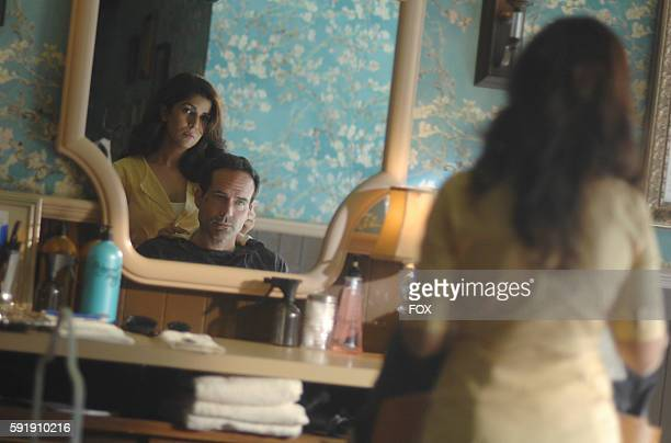 Nimrat Kaur and Jason Patric in the Once Upon A Time in Wayward Pines episode of WAYWARD PINES airing Wednesday June 8 on FOX
