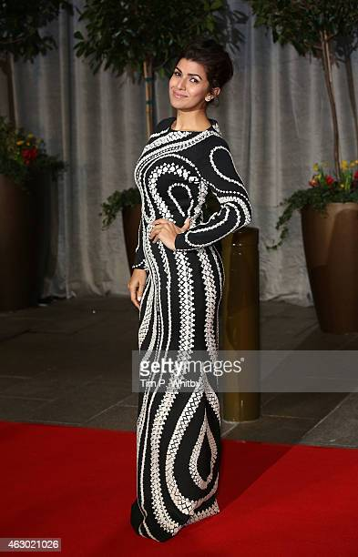Nimrat Kaur attends the after party for the EE British Academy Film Awards at The Grosvenor House Hotel on February 8 2015 in London England