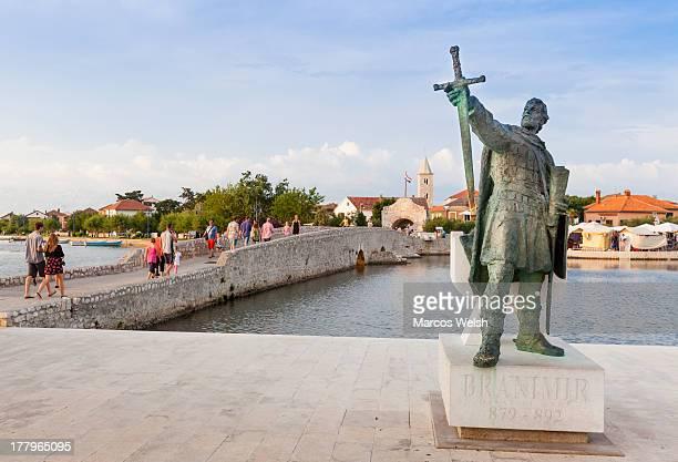 Nin town in Zadar, Croatia