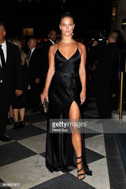 Nina Agdal arrives at the Harper's BAZAAR Celebration of 'ICONS By Carine Roitfeld' at The Plaza Hotel presented by Infor Laura Mercier Stella Artois...