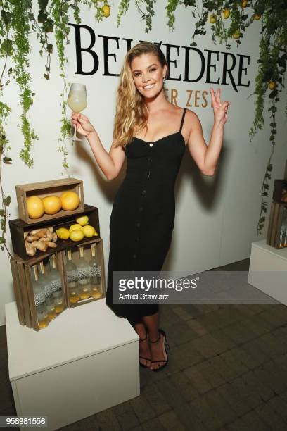 Nina Agdal attends as Belvedere Vodka celebrates newest expression Ginger Zest with Candice Kumai at NoMo SoHo on May 15 2018 in New York City