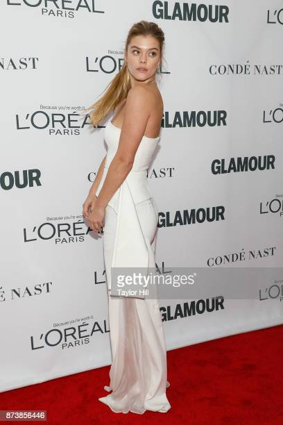 Nina Agdal attends the 2017 Glamour Women Of The Year Awards at Kings Theatre on November 13 2017 in New York City