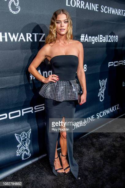 Nina Agdal attends the 2018 Angel Ball at Cipriani Wall Street on October 22 2018 in New York City
