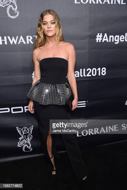 Nina Agdal attends the 2018 Angel Ball hosted by Gabrielle's Angel Foundation at Cipriani Wall Street on October 22 2018 in New York City