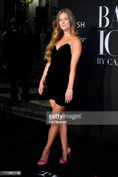 Nina Agdal attends the 2019 Harper's Bazaar ICONS on September 06, 2019 in New York City.