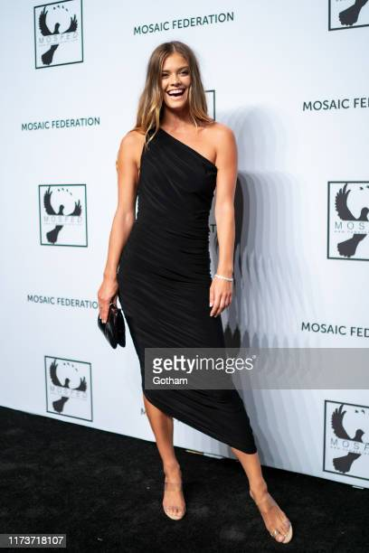 Nina Agdal attends the Mosaic Federation Gala Against Human Slavery at Cipriani 42nd Street on September 10 2019 in New York City